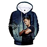 jensen ackles merchandise - Casual Costume Dean Winchester Printed Hoodie Sweatshirt for Men (S, Color2)