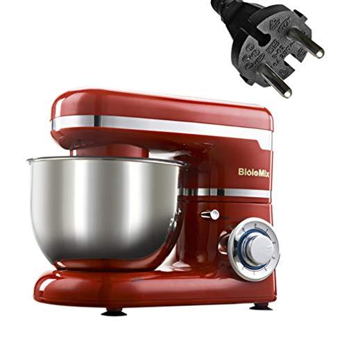 HB Küchenmaschine Silber 1200 W 6,5 L Mixer Kitchen Food Processor Blender