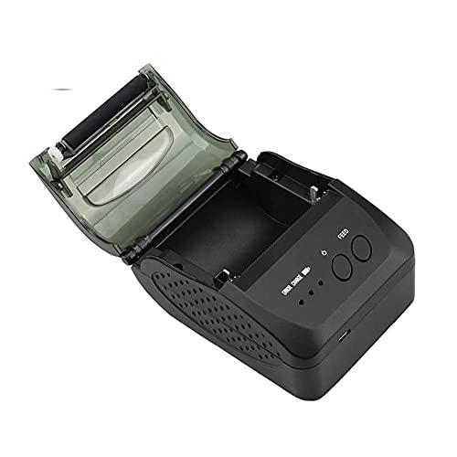 UOOD Impresora de Recibos térmicos Bluetooth, Impresora de facturas Personal portátiles, Mini Impresora móvil inalámbrica 58mm Compatible con Android/Windows