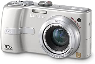 Panasonic Lumix DMC-TZ1S 5MP Compact Digital Camera with 10x Optical Image Stabilized Zoom (Silver)
