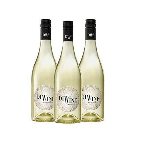 Nueva Añada Diwine 5.5 Vino Frizzante Espumoso caja de 3, Valdecuevas, 750 ml, x3