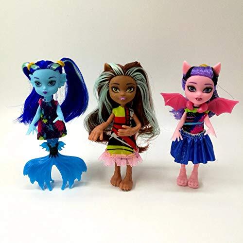 VIOYO 3 unids/Set muñeca Alta muñeca Monstruo Divertido Movimiento articulación Cuerpo muñeca Juguete niña Mejor Regalo Imagen DIY