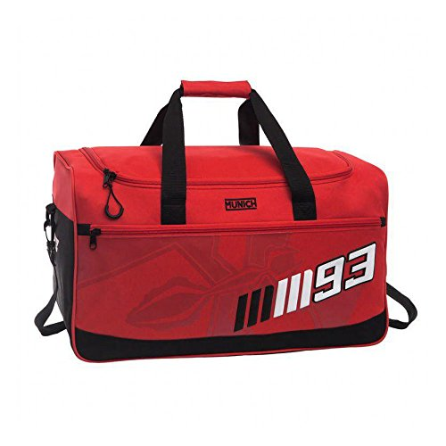 Munich Marc Marquez 93 Bolsa de Viaje, 43.73 litros, Color Rojo