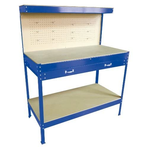 Astonishing Garage Workbench With Storage Amazon Co Uk Caraccident5 Cool Chair Designs And Ideas Caraccident5Info