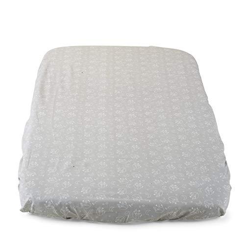 Chicco Draps Next2me - Juego de 2 fundas de almohada, color gris