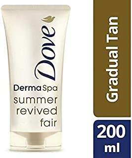 [Dove ] メディア緩やかな自己日焼けに公正復活Dermaspa夏の鳩 - Dove DermaSpa Summer Revived Fair to Medium Gradual Self Tan [並行輸入品]