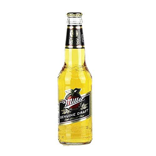 6 Flaschen Miller Genuine Draft a 0,33L inc. 1.50€ EINWEG Pfand Beer