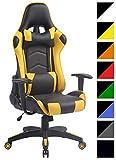 CLP Silla Racing Miracle V2 en Cuero PU I Silla Gaming Regulable en Altura I Silla Gamer con 2...