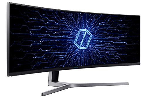 Samsung C49HG90DMU 124,20 cm (49 Zoll) LED Multitasking Monitor (2x HDMI, Display Port, Mini-Display Port, USB, 3840 x 1080 Pixel) mattschwarz - 4