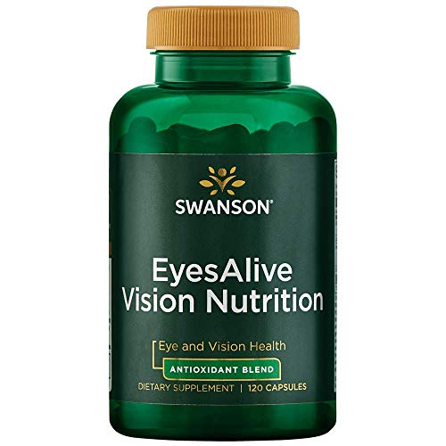 Swanson Eyesalive Vision Nutrition 120 Capsules
