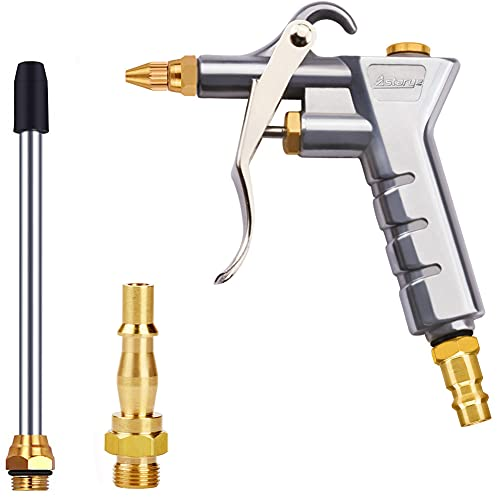 Pistola de soplado de aire Astarye Boquilla Limpiador de pistola de soplador de plumero con 1/4