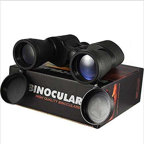 Binoculars Spotting Scopes,Telescopes Catadioptric 20X50 Outdoor HD High Zoom Film Double Barrel Metal Nonslip For Hunting/Camping