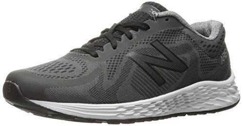 New Balance New Balance, Unisex-Kinder Laufschuhe, Grau (Grey/black), 30 EU (11.5 UK Child)