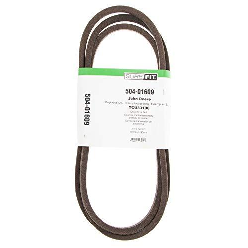 "SureFit 48"" Deck Drive Belt Replacement for John Deere TCU33100 WG48A Commercial Walk-Behind Mowers"
