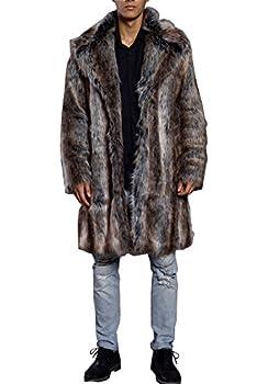 Best men faux fur coat Reviews