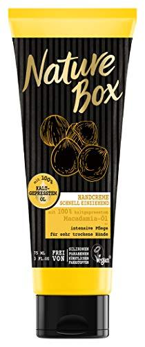 Nature Box Handcreme Macadamia-Öl, 1er Pack (1 x 75 ml)