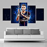 Arter Paris Saint-Germain Neymar Poster, Leinwand Gemälde