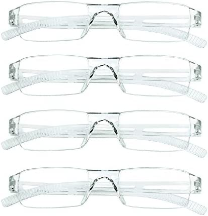 4 Pairs Reading Glasses Blue Light Blocking Glasses Computer Reading Glasses for Women and Men product image