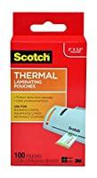 Scotch Thermal Laminating Pouches 400 Pouches