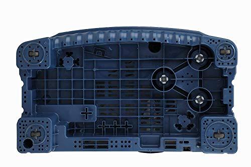 LG 6.5 Kg 4 Star Semi-Automatic Top Loading Washing Machine (P6510NBAY, Dark Blue, Rat Away Technology) 7
