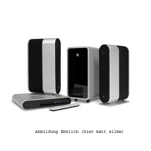 KEF KIT140 Heimkinosystem (CD/DVD-Player, HDMI) schwarz