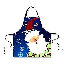POLERO Christmas Apron - Cartoon Santa