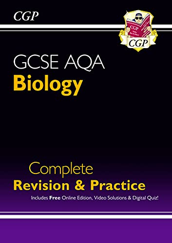 New GCSE Biology AQA Complete Revision & Practice includes Online Ed,...
