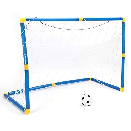 Porterias de Fútbol para Niños Yosoo Kit fútbol infantil de la Bola Portátil de la Bomba con Portería Juguete de Fiesta Exterior