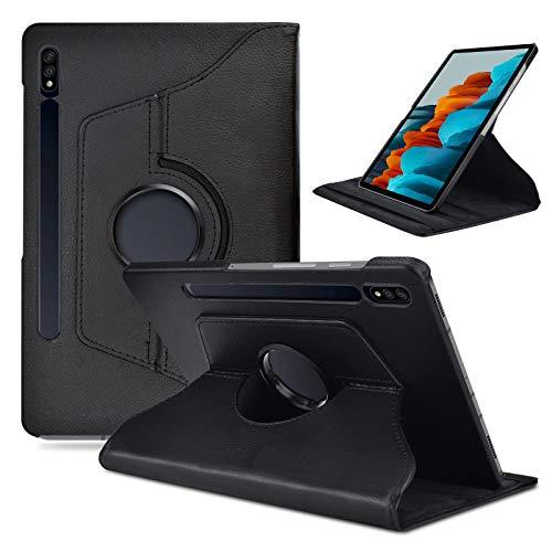 KATUMO Custodia per Samsung Galaxy Tab S7 Cover 360° Rotazione Flip Cover Tablet S7 11pollici 2020 con Funzione Stand SM-T870/T875 Tablet Protettivo