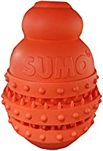 SUMO Rubber Dental Play (S) Dog Toy (red)