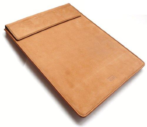 Hülle-Mate Premium-Tan Leder Hülle Tashe Hülle Für Odys Iron 9.7-Zoll-Tablet