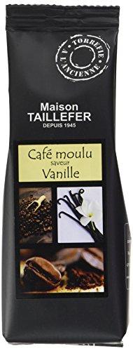 Maison Taillefer Café Saveur Vanille Moulu 125 g -...