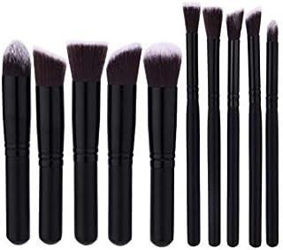 10Pcs Makeup Brushes Cosmetic Make Up Brush Black Colour