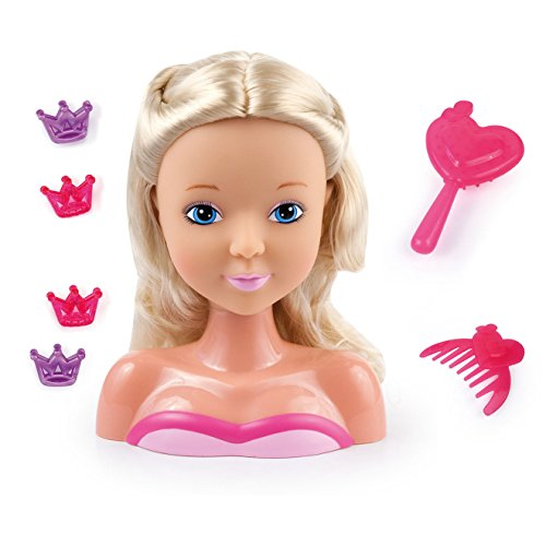 Bayer Design - 9001900 - Tête à coiffer - My lovely Princess - 19 cm