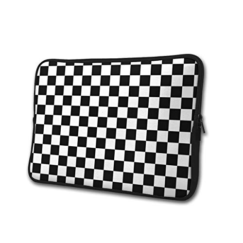 SWEET-YZ Laptop Sleeve Case Checkerboard Notebook Computer Cover Bag Compatible 13-15 Inch Laptop