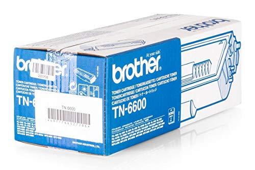 Original tóner XXL compatible con Brother HL de 1200PS Brother 26917, TN6600, TN 6600–Impresora de Premium de cartucho–Negro–6000páginas ⭐