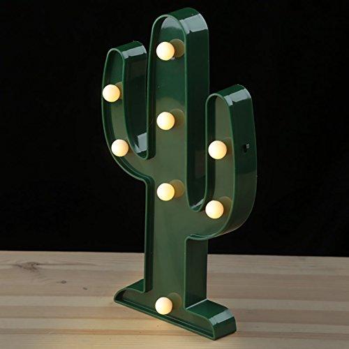 D?coration+Lumineuse+/+Lampe+D?corative+LED+-+Cactus