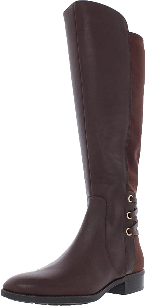 Vince Camuto Womens Pauletta Suede Fashion Knee-High Boots Brown 9 Medium (B,M)