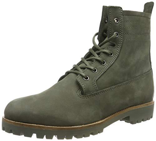 Blackstone Damen OL22 Desert Boots, Grün (Dark Green), 39 EU