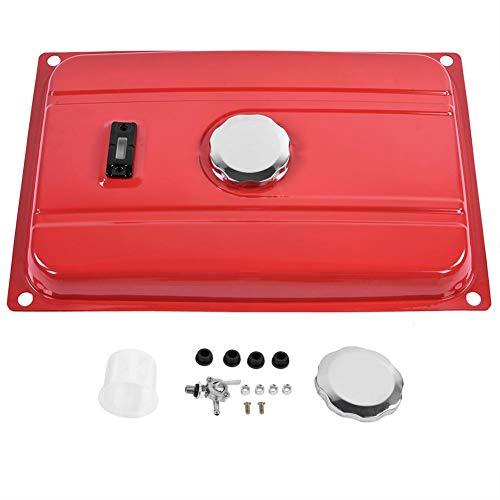 Tanque de combustible del generador, llave de purga del filtro del indicador del tapón del tanque de combustible del generador universal de 7 galones