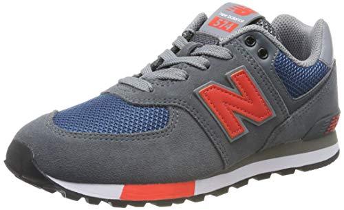 New Balance Herren GC574 M Sneaker, Grau (Grey Grey), 38 EU