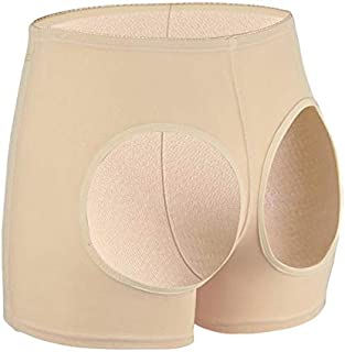 Guomao Seamless Waist Trainer Hot Pants Control Panties Sexy Butt Lifter Brief for Women Wedding Girdle Pant Body Shapers Short (Color : Beige, Size : L)