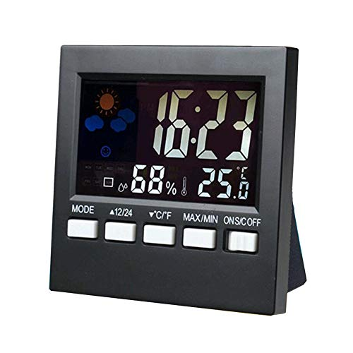 Sale!! SYue Wireless Weather Station, Room Hygrometer Temperature Wireless Temperature Humidity Moni...