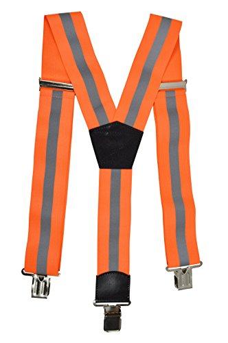 Zeer zichtbare, heavy duty werkkleding bretels voor mannen
