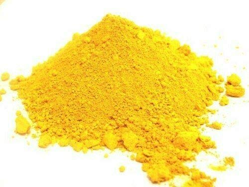 Artist Grade Yellow Pigment Powder Natural Iron Oxide Mineral Quality (500g)