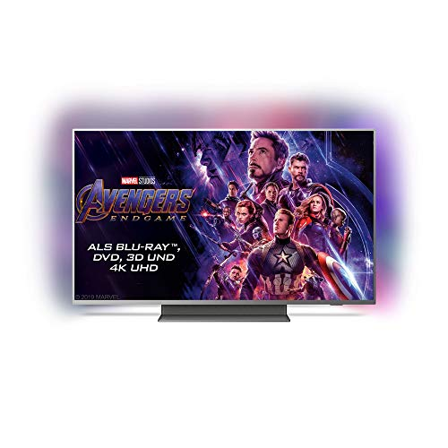 Philips Ambilight 55PUS7504/12 Fernseher 139 cm (55 Zoll) Smart TV (4K UHD, P5 Perfect Picture Engine, HDR 10+, Dolby Vision, Dolby Atmos, Android TV)