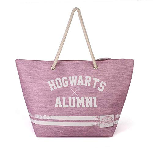Karactermania Harry Potter Alumni-Borsa Da Spiaggia Sunny Bolsa de Tela y de Playa 60 Centimeters Multicolor (Multicolour)