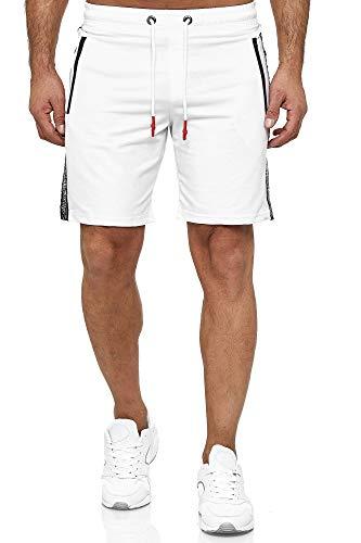 Kayhan Herren Sport Short1, White XL