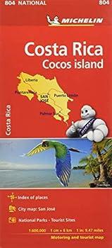 Mapa National Costa Rica  Mapas National Michelin