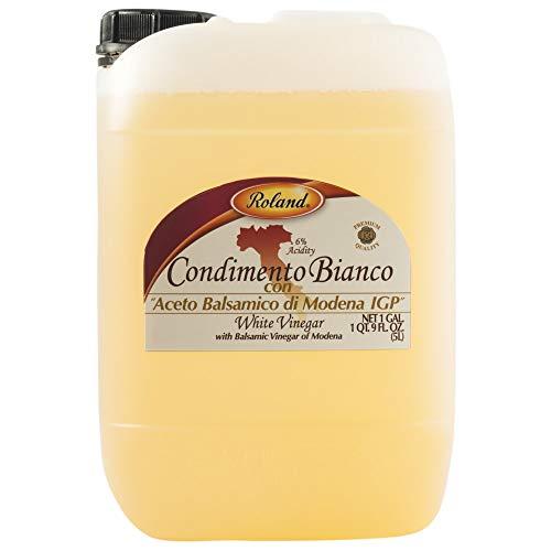 Roland Balsamic Vinegar, White, 10.56-Pounds
